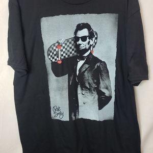 Riot Society Short Sleeve Graphic T Shirts Abraham